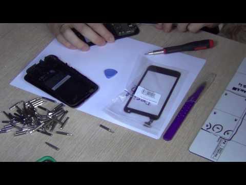 Известный новосибирский телеведущий ремонтирует HTC Desire 310 - замена тачскрина