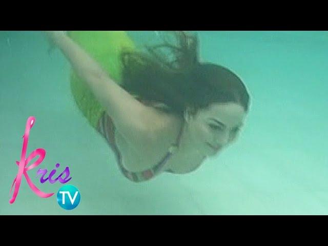 Kris TV: Mermaid Swimming