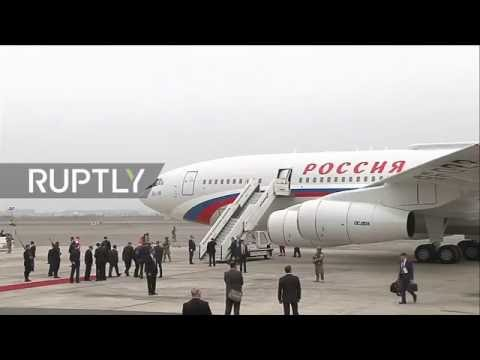 LIVE: Putin arrives in Lima for APEC meeting