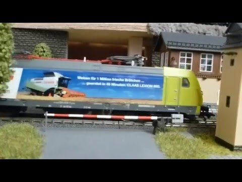 Märklin H0 Digital 26553 - E-Lok - Claas BR 185 Train Rail Railway Zugfahrt