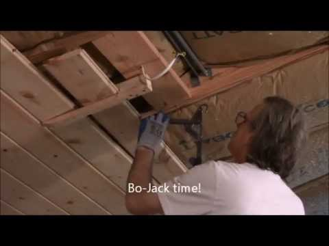 Tongue And Groove Ceiling Install Youtube