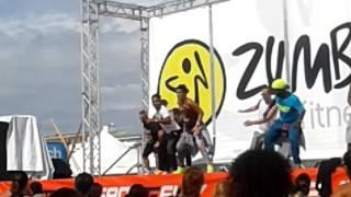Bibione beach fitness 2016. Zumba con Angela Verrelli