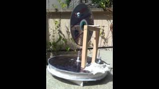 Moteur solaire stirling