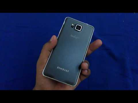 Unboxing galaxy Alpha 2nd indonesia