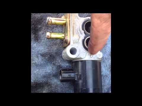how to clean idle air control valve rx300