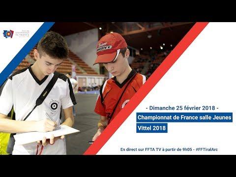 Championnat de France salle Jeunes Vittel 2018 - Éliminatoires