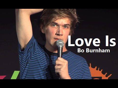 Love Is W/ Lyrics - Bo Burnham