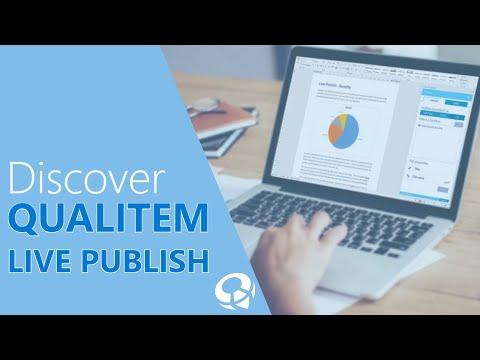 Discover Qualitem Live Publish