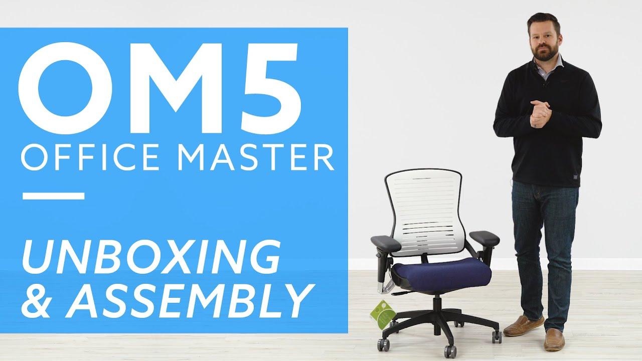 Office Master Om5 Office Chair Unboxing And Assembly Guide Youtube