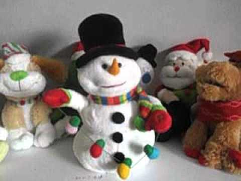 singing snowman christmas toys 2015 animated toy youtube - Singing Christmas Toys