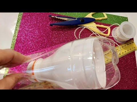 Поделки из бутылок пластиковых своими руками на новый год