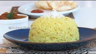 ♨നല്ല നാടൻ തേങ്ങാച്ചോറ് || Tasty Coconut Rice in Pressure Cooker || Recipe : 82