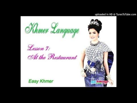 Giáo trình Đàm thoại Việt Khmer bài 7