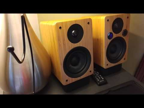 M24 powered speakers (Peachtree Audio)