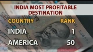 India Become Most Profitable Place For Investment !!!