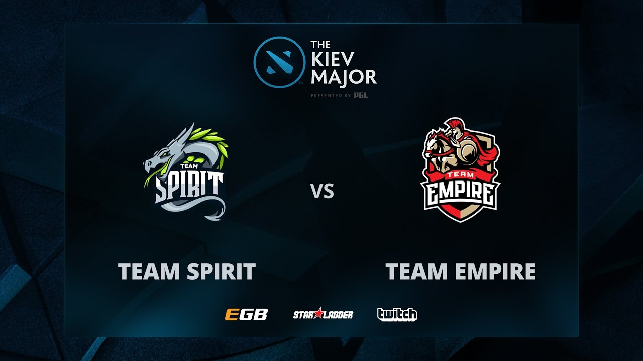 Spirit vs Empire, Game 1, The Kiev Major CIS Main Qualifiers Play-off