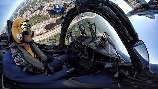 Blue Angels Pilot Flying • Cockpit MAX View