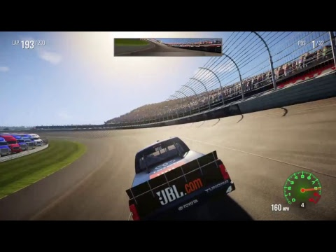 NASCAR HEAT 2 CHAMPIONSHIP MODE PART 6 CONTINUED BAR HARBOR 200 @ DOVER INTERNATIONAL SPEEDWAY