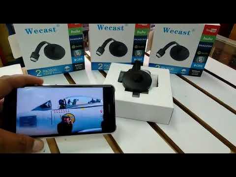 Wecast 1080P Multi-pantalla WiFi Display receptor RK3036