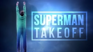 Superman Takeoff! After Effects Tutorial