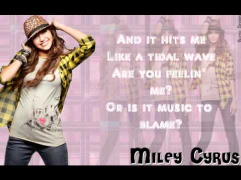 miley cyrus - who owns my heart INSTRUMENTAL (FL) with lyrics