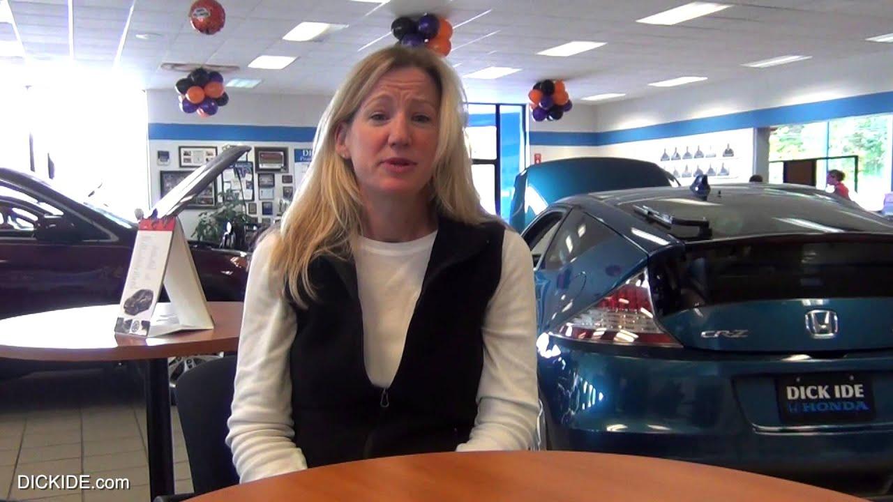 Dick Ide Honda >> Customer Testimonial Jen 2013 Pilot Dick Ide Honda Rochester Ny Dealer Review