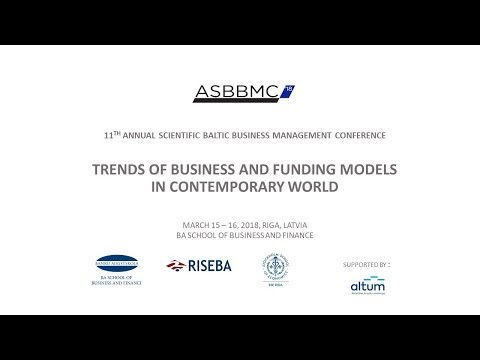 11th Annual Scientific Baltic Business Management Conference