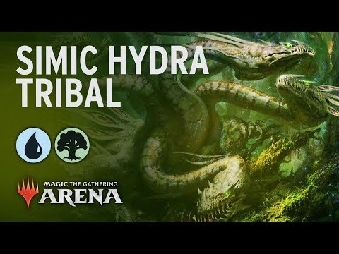 Simic Hydra Tribal | Throne Of Eldraine Standard 2020 Deck Guide [MTG Arena]