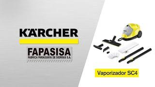 Vaporizadora linea hogar SC 4 Easy Fix - Kärcher FAPASISA Paraguay