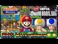 Newer Super Mario Bros. Wii - Full Game (All Worlds 100% Walkthrough Multiplayer)
