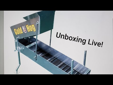 NEW! Gold Hog Mining Equipment Live Unboxing!
