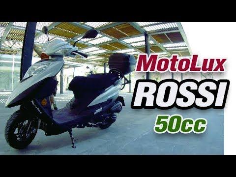 MOTOLUX ROSSİ 50 CC RAMPA TESTİ (BAGA ORJİNALDİR)