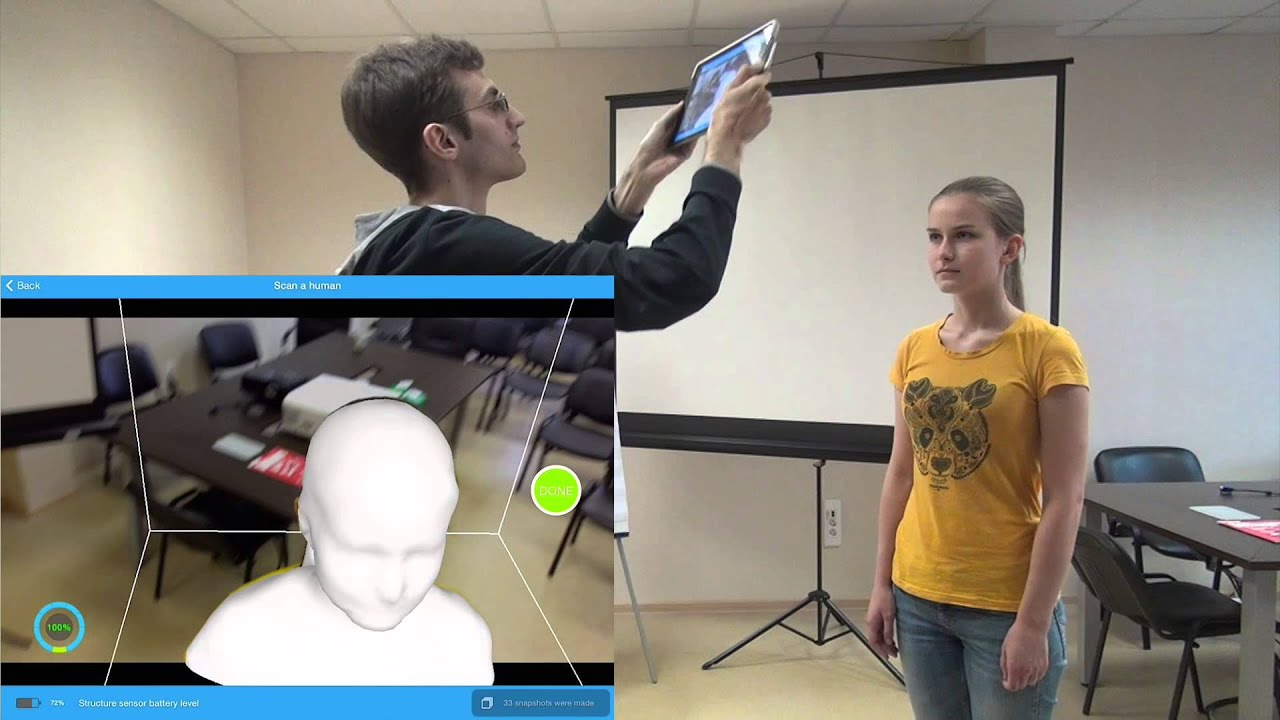 3d printing 3d modeling and 3d scanning services itseez3d tutorial on scanning with structure sensor