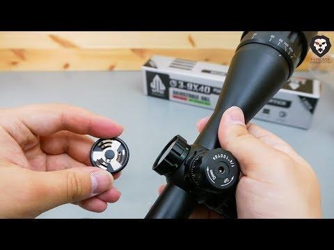 Оптический прицел Leapers 3-9x40 AO Full Size (SCP-394AOMDLTS) видео обзор