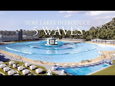 The News Junkie - Surf Lakes Makes Giant Wave Pool