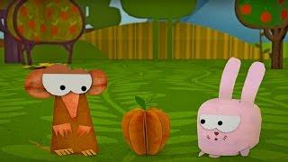 Бумажки - На вкус и цвет - мультфильм для детей - поделки своими руками