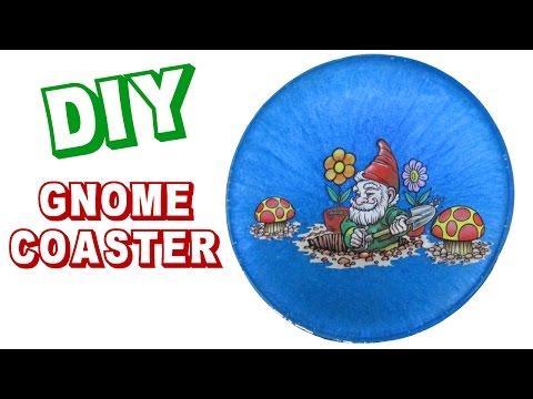 Gnome Coaster -   Another Coaster Friday Craft Klatch