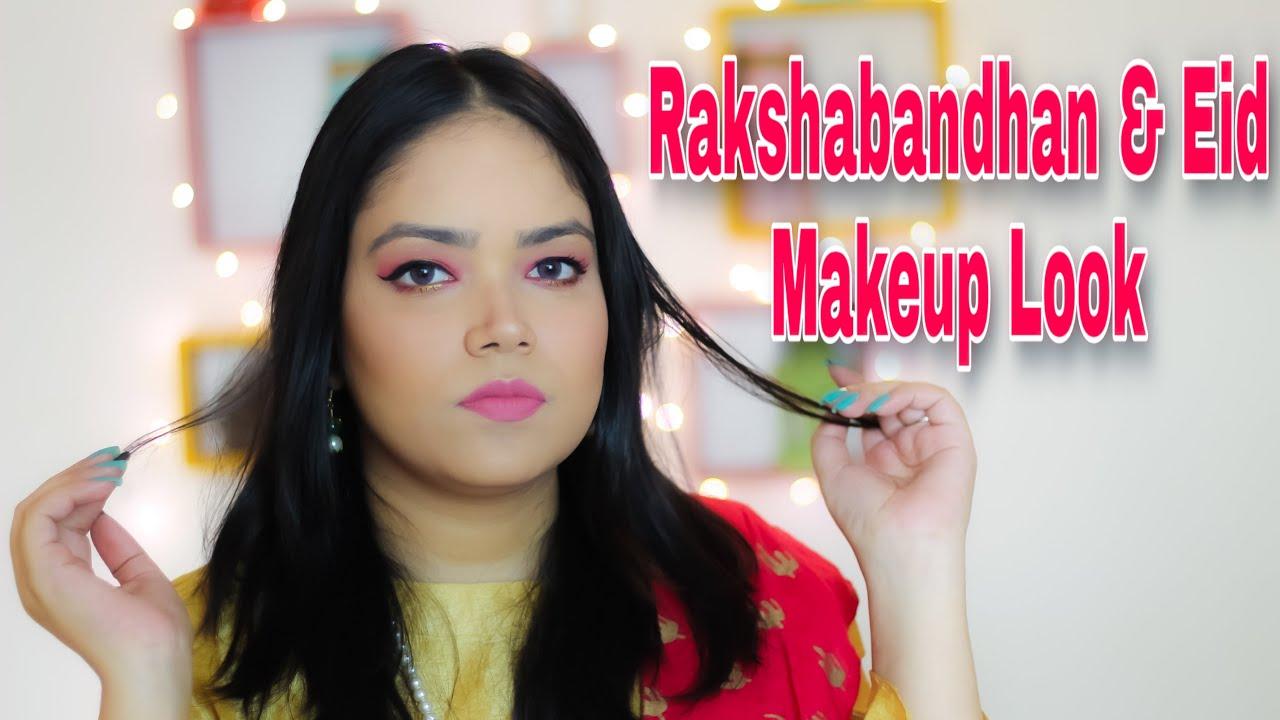 Eid & Rakshabandhan make-up look | 2 festivals 1 make-up Season 2 | Anku Sharma