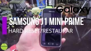 Samsung J1 Mini Prime Hard Reset/Quitar Contraseña