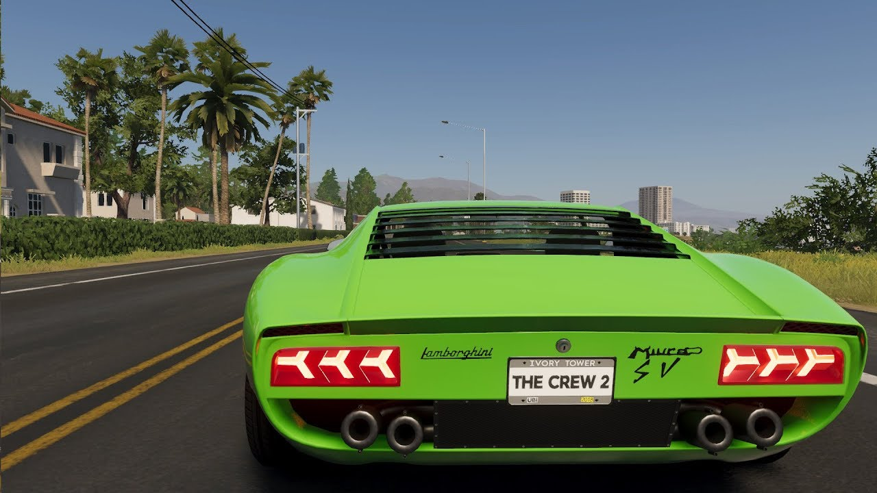 The Crew 2 Lamborghini Miura Sv 1971 Customize Tuning Car Pc