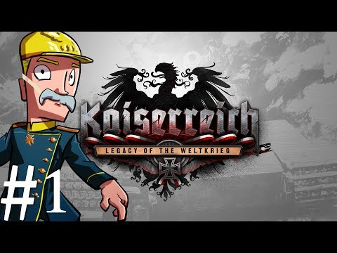 Hearts of Iron 4 | Kaiserreich | Germany | Part 1 | Black Monday