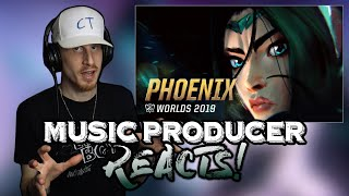 Music Producer Reacts to Phoenix (ft. Cailin Russo and Chrissy Costanza) | League of Legends