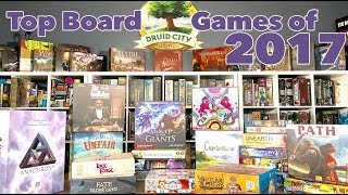 My Top 11 Board Games of 2017