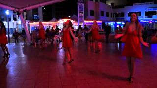 Ladies Salsa Dance Performance