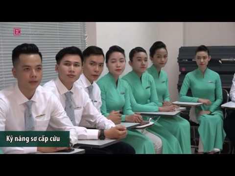 Tiếp viên hàng không được đào tạo như thế nào