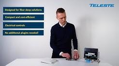 Teleste AC8 intelligent 1.2 GHz optical node