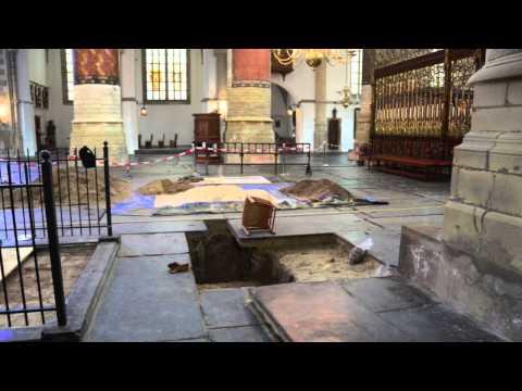 2014 Grote of St. Bavokerk Haarlem - archeologisch onderzoek