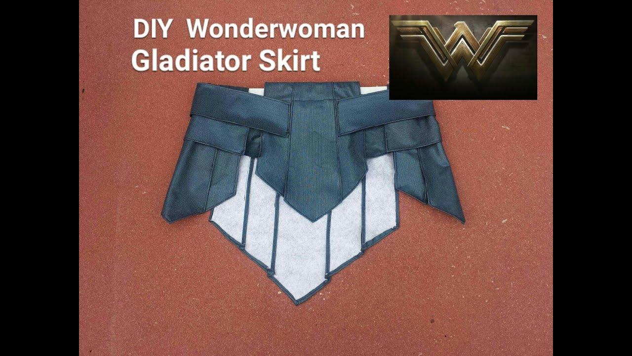 Diy wonder woman gladiator skirt wonder woman cosplay part 1 youtube solutioingenieria Gallery