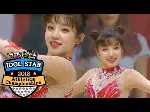 yuqi-handles-the-apparatus-freely~-she's-adorable!-[2018-isac-ep-2]