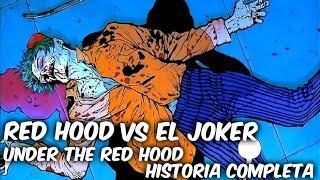 """BATMAN Vs RED HOOD """"BAJO LA CAPUCHA ROJA HISTORIA COMPLETA"""" @Comics Tj"""